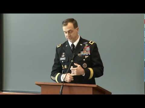 Brig. Gen. Mark Martins '90: Legitimacy and limits of military commissions