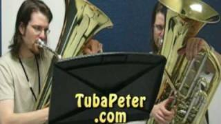 Benny Hill Theme Tuba Duet + sheet music
