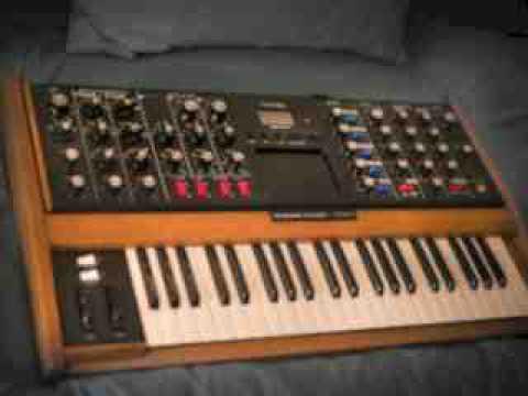 Moog Voyager Minimoog type sounds