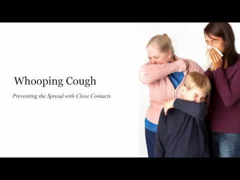 Whooping Cough -  Preventing the Spread with Close Contacts