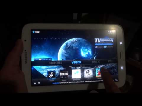 how to add 1channel on kodi tablet