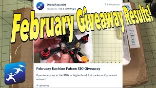 February Giveaway Winners and an announcement for the March Giveaways