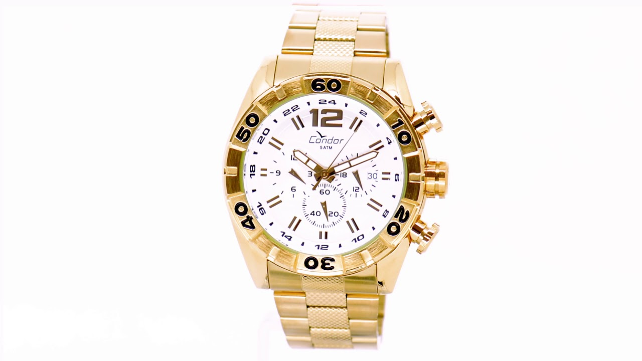Relógio Condor Masculino Civic Dual Time COVD33AA 4K - Eclock. Eclock  Relógios 9eb75640c1