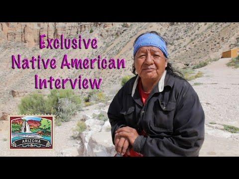 Rare Exclusive Interview with Havasupai Native American
