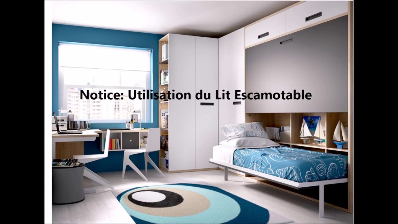 Notice Lit escamotable | Secret de Chambre - YouTube on