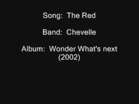 Chevelle - The Red (with lyrics)