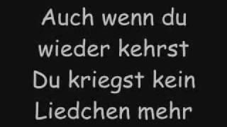 Fler & Doreen - Ich sing nicht mehr für dich (lyrics)