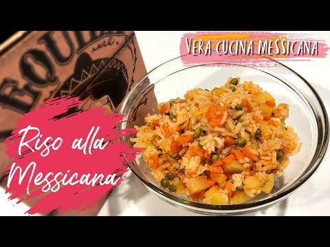 Ricetta messicana// Riso alla messicana rosso e bianco// cucina messicana// facile e veloce