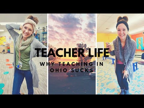 WHY TEACHING IN OHIO SUCKS // teacher life #21