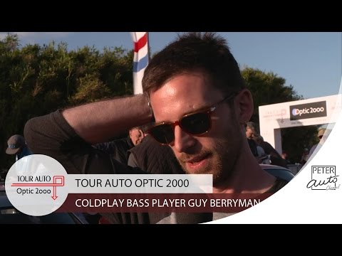Guy Berryman (Coldplay) in the fifth stage (Toulouse - Biarritz)