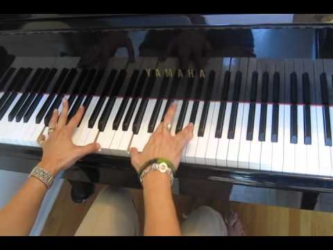 Try On Piano Asher Book With Chord Chart From Movie Fame Youtube