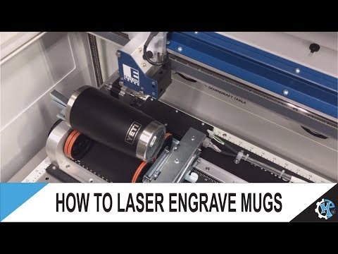 How to Laser Engrave Mugs | Engraving Yeti Mugs | Laser Engraving Mugs