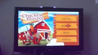 ik ben RAMBOOOO - wii- chicken blaster
