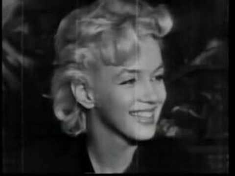 Marilyn Speaks to the Press