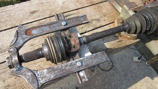 Как сделать съёмник наружного ШРУСа своими руками / cv joint puller DIY