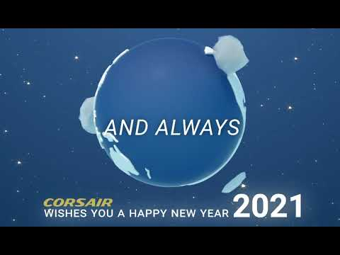 Greetings 2021 Corsair International