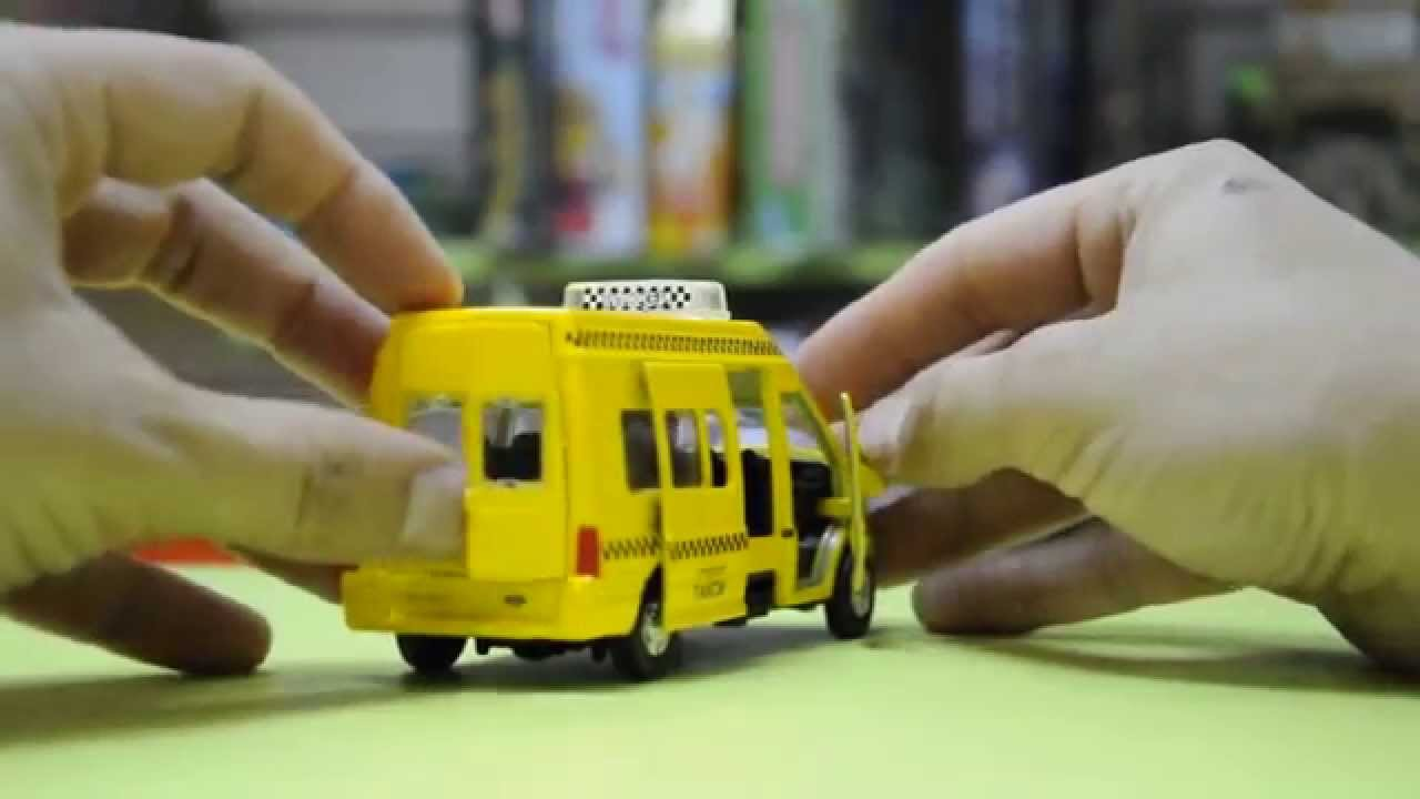 Игрушка микроавтобус FORD TRANSIT полиция