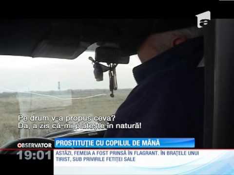 O prostituată din Buzău îşi racola clienţii cu fetiţa de mână!