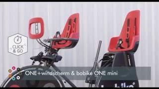 Maak kennis met het Bobike ONE kinderzitje voor op de fiets