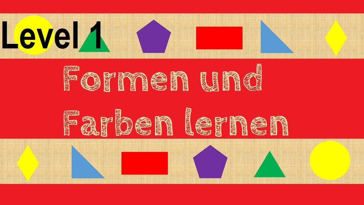 Wo ist das Dreieck? (Level1) Geometrische Formen und Farben erkennen ...