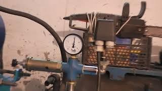 Бєжецький Компресор з 416 м, тестуємо сопло з свічки, під піскоструй