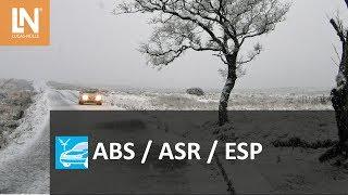 Das Trainingssystem zeigt die Wirkungsweise von ABS (Antiblockiersy...