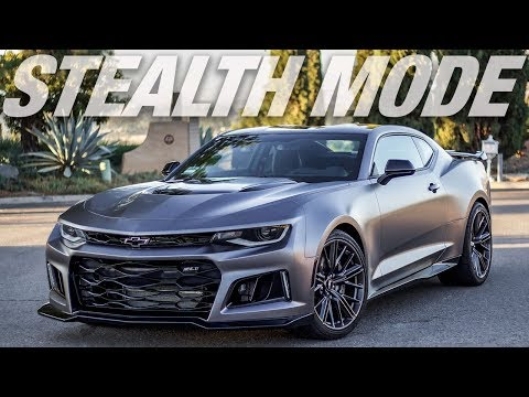 """Stealth Mode"" 2017 Chevrolet Camaro ZL1 - VINYL WRAP"