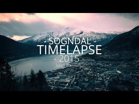 Sogndal TimeLapse 2015-2016 (Norway) 4K