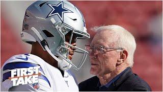 First Take debates whether Dak Prescott should have animosity toward the Cowboys (Part 1)