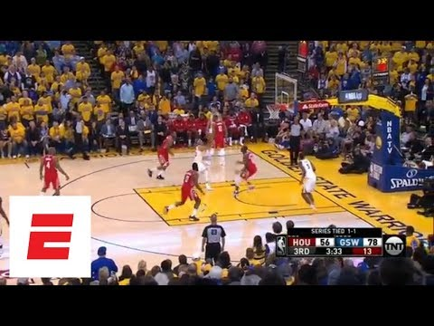 Golden State Warriors hammer Houston Rockets, take 2-1 series lead
