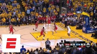 Steph Curry goes off in third quarter of Game 3 against the Houston Rockets | ESPN