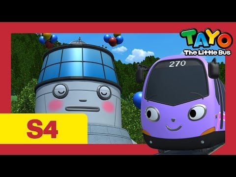 Thumbnail: Tayo S4 #09 l Trammy's first day at work l Tayo the Little Bus l Season 4 Episode 9