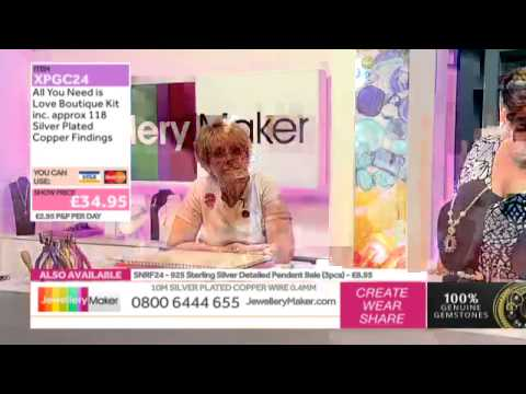 How to Make Boutique-Style Beaded Jewellery: JewelleryMaker LIVE 29/10/2014