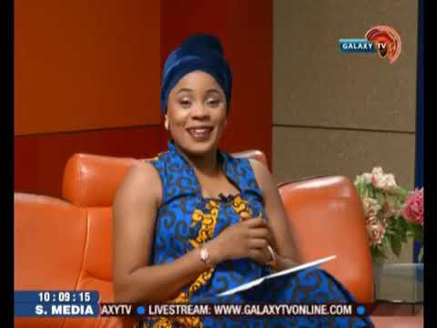 """Coach Triple A goes on GalaxyTV, Lagos and talks on """"Overcoming Performance Obstacles in 2018""""."""