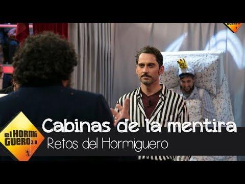 Paco Tous reta a Paco León en el juego de las cabinas de la mentira y la verdad  - El Hormiguero 3.0