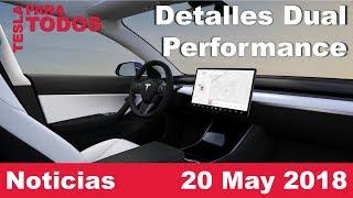 Model 3 Performance y Dual, Supercharger en Madrid, Llantas y asientos nuevos y más