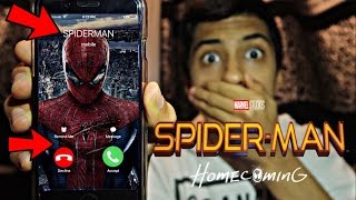CALLING SPIDERMAN *OMG HE ACTUALLY ANSWERED*