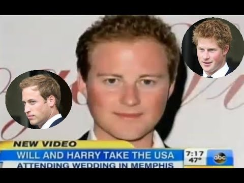 Prince Harry and William Memphis Guy Pelly's Weekend Wedding Bash