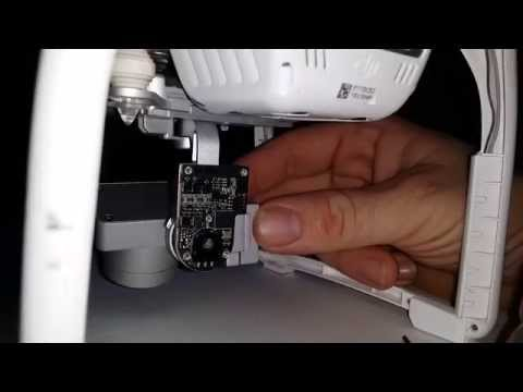 How to repair shaky DJI Phantom 3 gimbal after crash