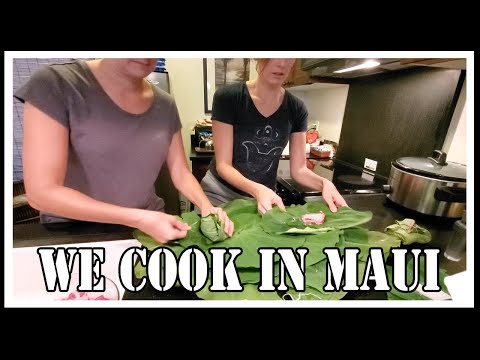 First Time Eating Laulau | Maui Hawaii