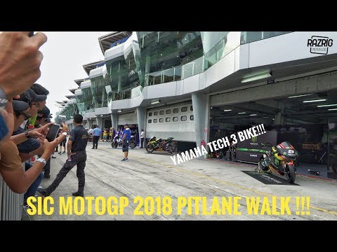 PIT-LANE WALK & MOTOGP SOUND SEPANG CIRCUT | MOTOGP 2018 | PART 2 | VLOG