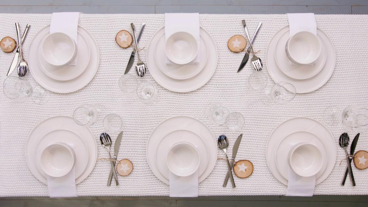 les tutos de noël - comment dresser une table de fête juste
