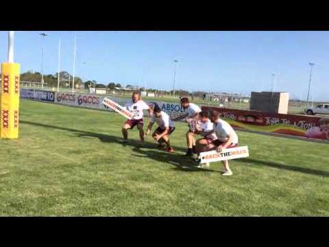 Mackay Cutters #BACKTHMACK post try celebration!