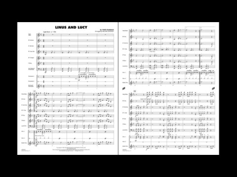 Linus and Lucy by Vince Guaraldi/arr. Michael Sweeney