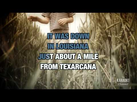 Cotton Fields in the style of The Highwaymen | Karaoke with Lyrics
