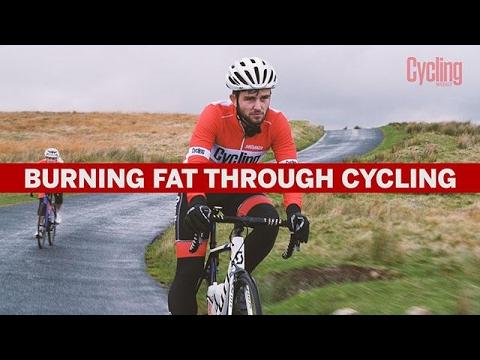 Can you burn fat bike riding