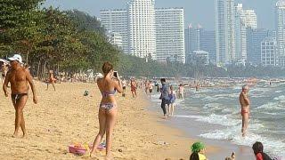 Jomtien Beach PattayaThailand March 2017