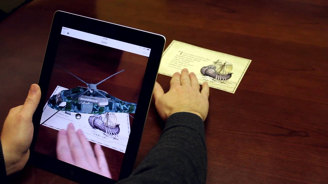 Media Genesis Augmented Reality Demo