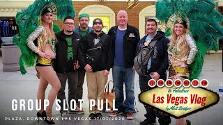 The Group Slot Pull That Closed Vegas (#8) Dollar Storm (Plaza Las Vegas, 17th March 2020)
