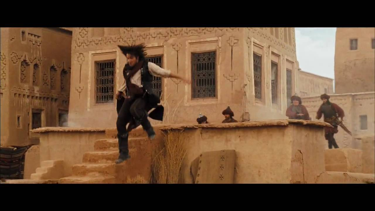 Prince Of Persia The Sands Of Time Rooftop Escape Clip Youtube